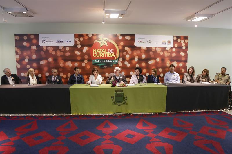 Prefeito Rafael Greca, apresenta a programação do...