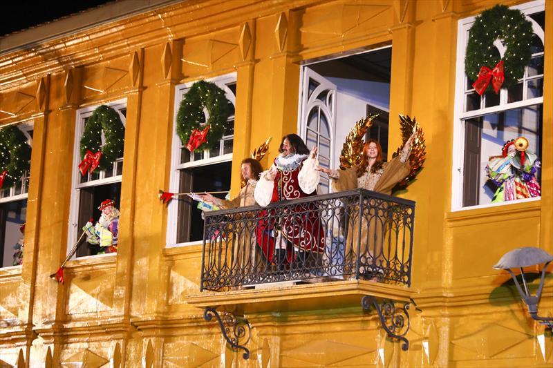 Abertura oficial do Natal em Curitiba com...