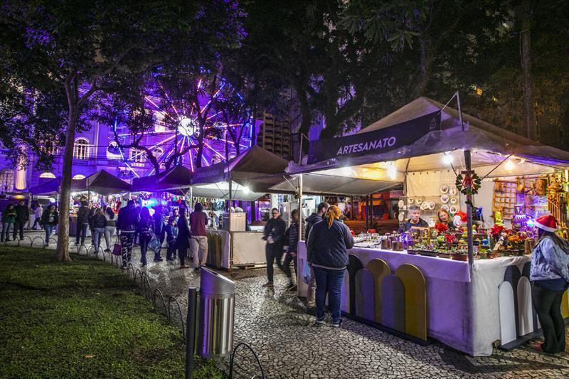 Feira de Natal Praça Santos Andrade Natal 2019